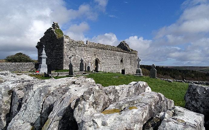 Kirchenruine Carran