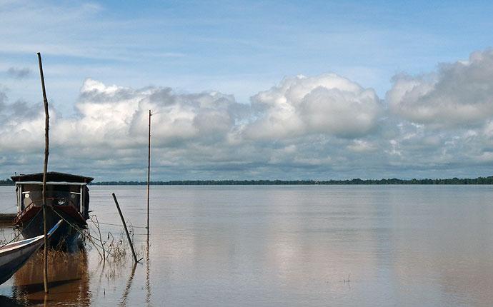 Mekong bei Champasak