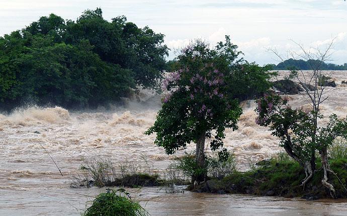Mekong Wasserfall