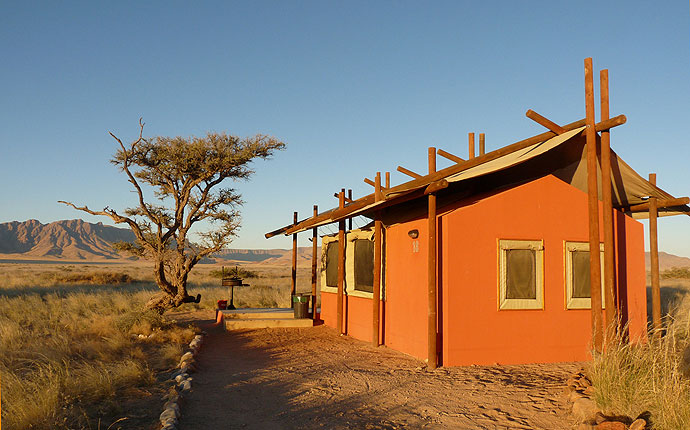Desert Camp am Sossusvlei, Namibia