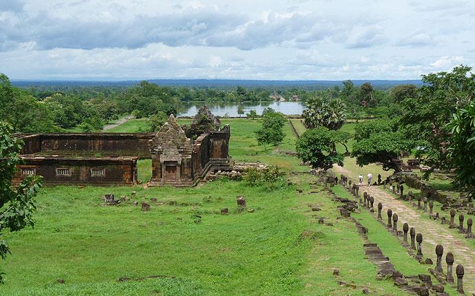 Tempelamlage Vat Phou
