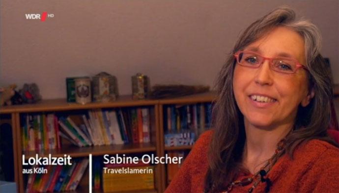 Sabine beim WDR über den Travel Slam