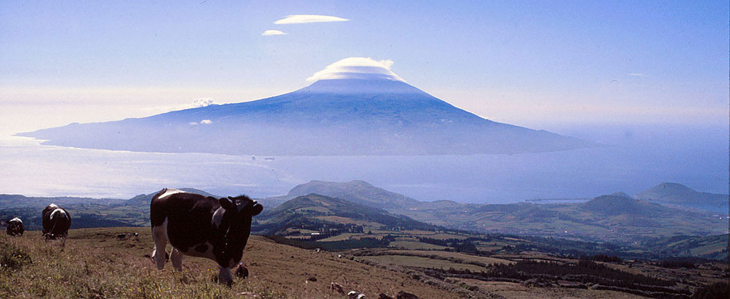 Blick auf den Berg Pico