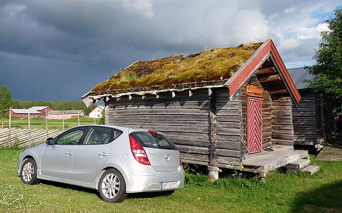 Campinghütte am Femundsee