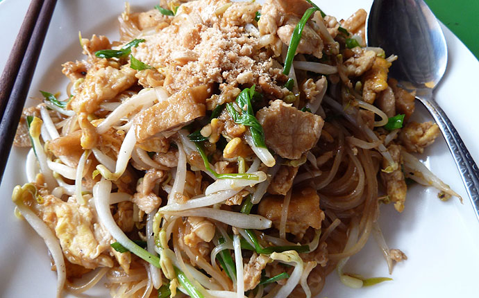 Essen in Thailand: Pad Thai