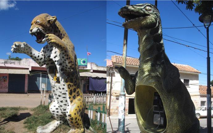 """ Tiger? Tyrannosaurus? Telefon!"""