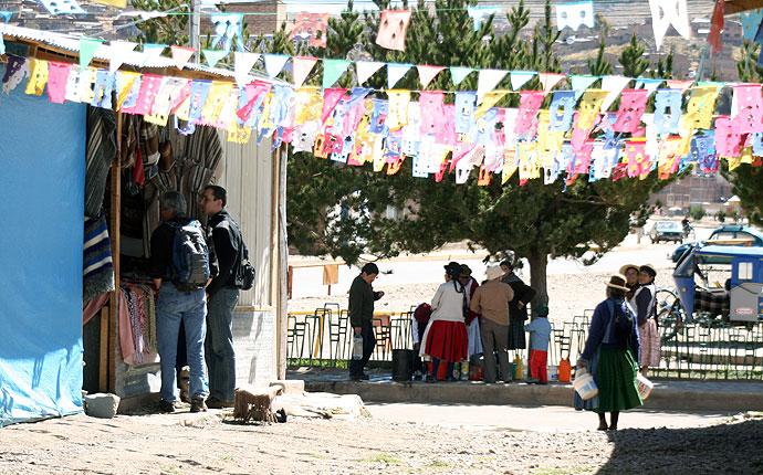 Peru: Handeln auf dem Markt