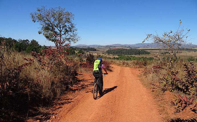 Radfahren im Mlilwane Wildlife Sanctuary