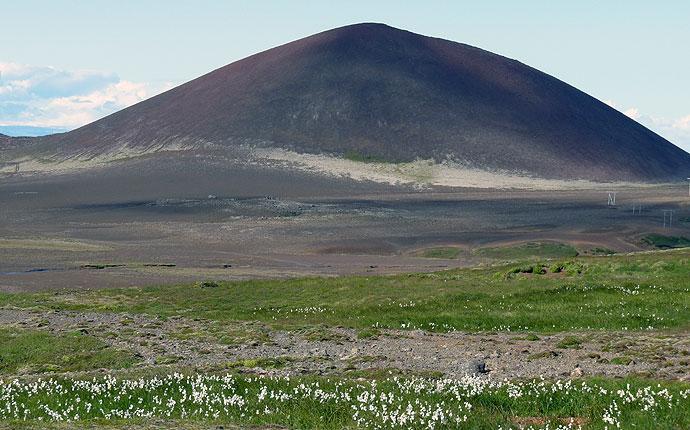 Krater auf Snaefelsnes
