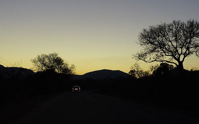 Dämmerung im Krüger Nationalpark