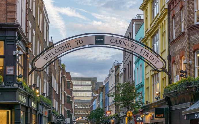 Reise nach London: Welcome to Carnaby Street