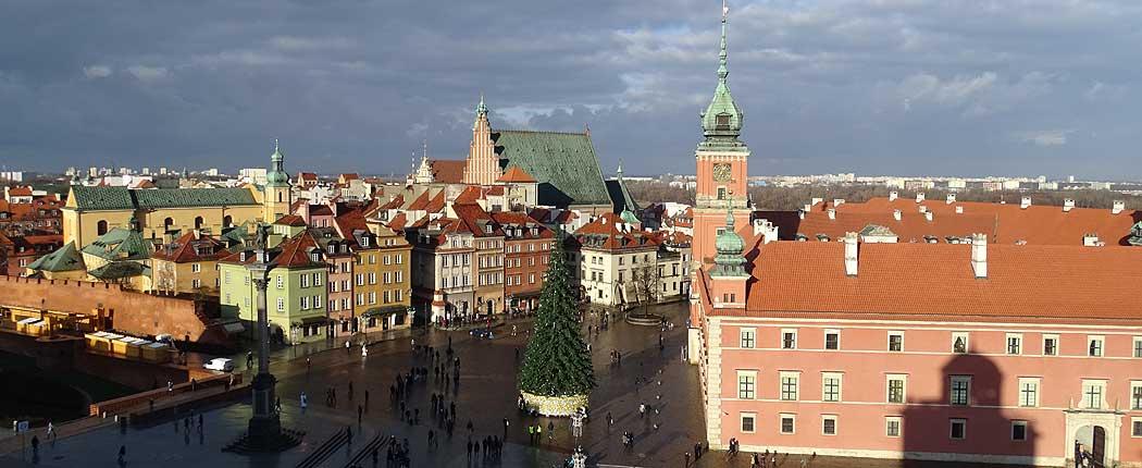 Warschau in zwei Tagen: Schlossplatz