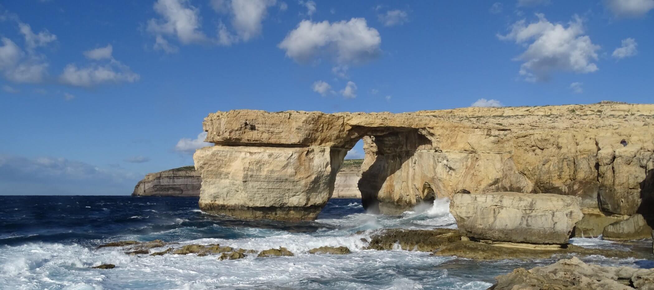 Felsenfenster Azure Window auf Gozo