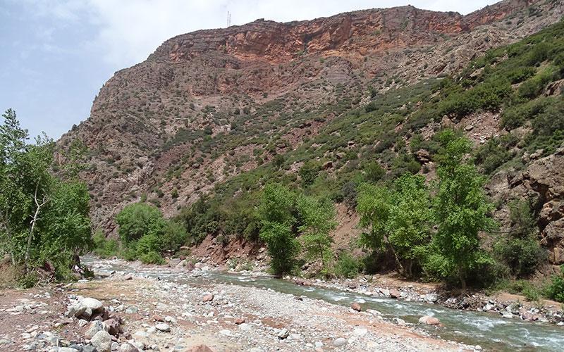 Fluss im Ourika-Tal