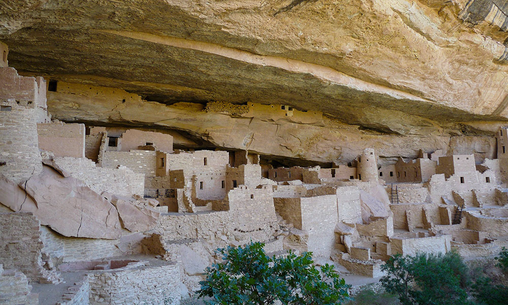 Felsbehausungen Balcony House im Nationalpark Mesa Verde