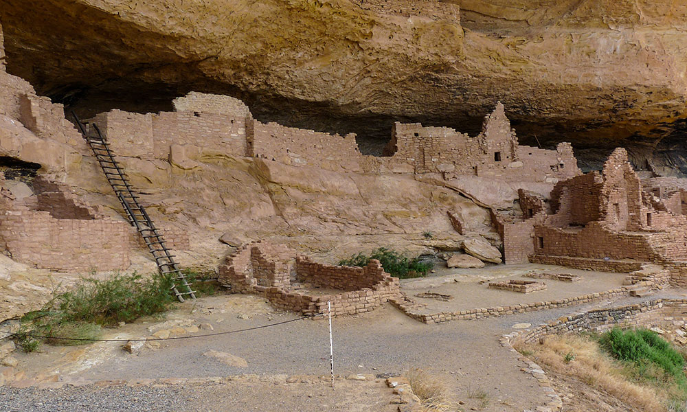 Felsbehausungen Cliff Palace im Nationalpark Mesa Verde