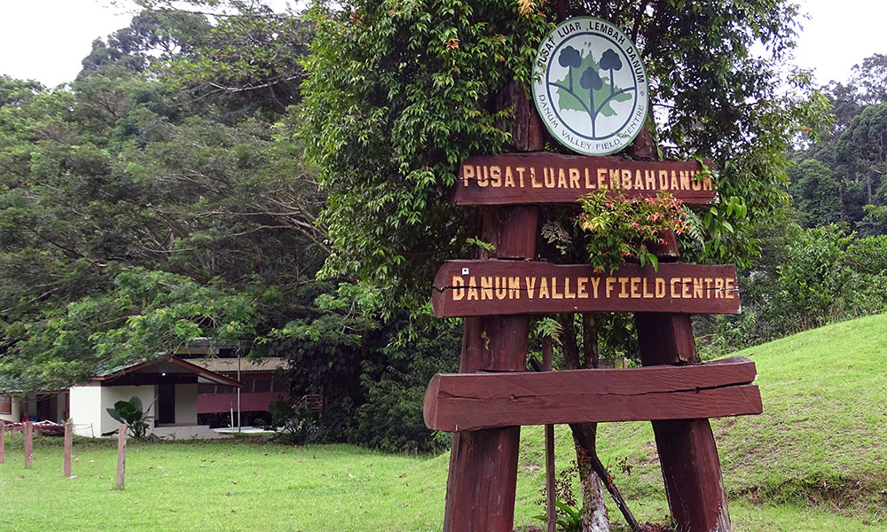 Schild des Danum Valley Field Centre