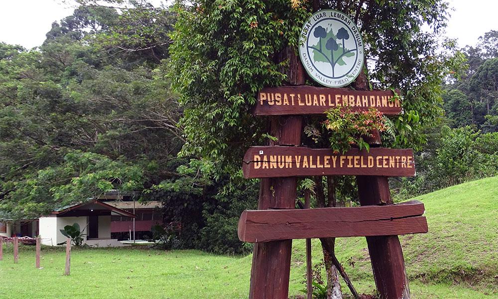 Schild des Danum Valley Field Centre