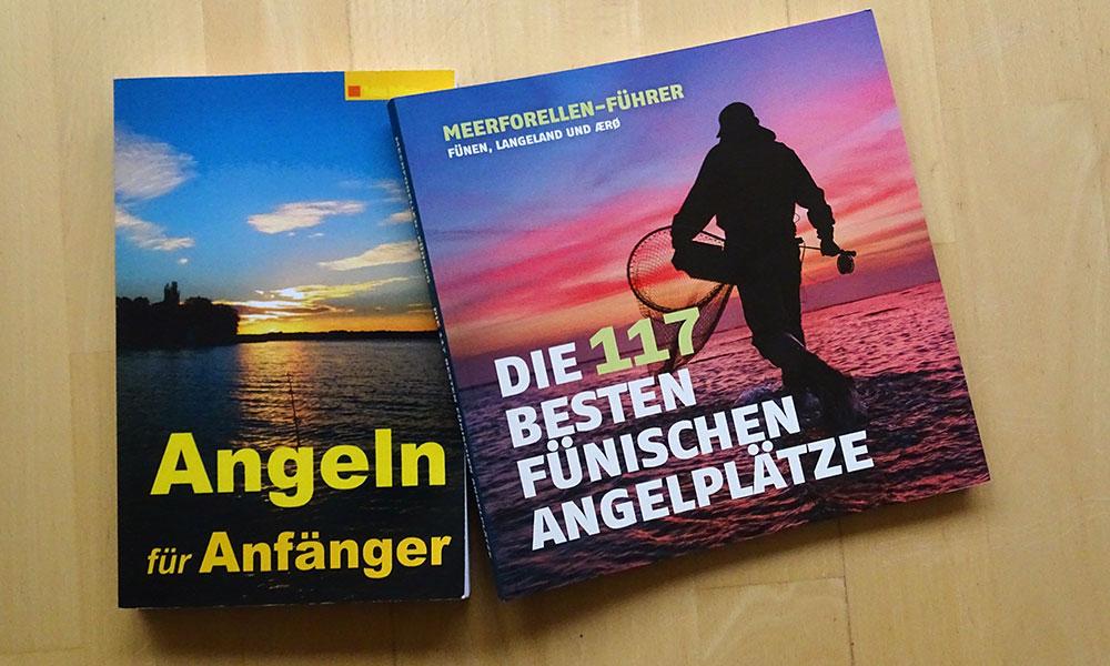 """Bücher """"Angeln für Anfänger"""" und """"Die 117 besten fünischen Angelplätze"""""""