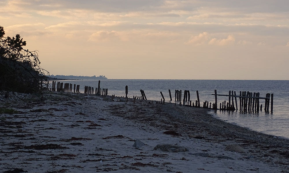 Sonnenuntergang am Meer auf Fünen