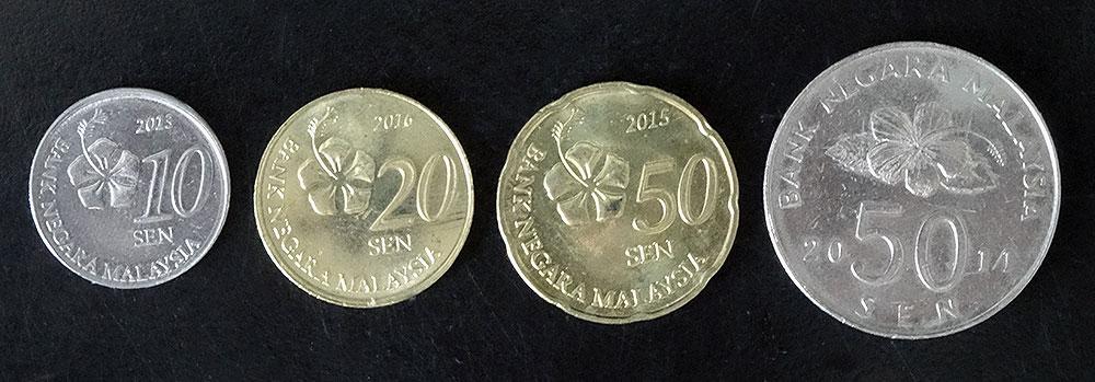 Münzen Malaysischer Ringgit