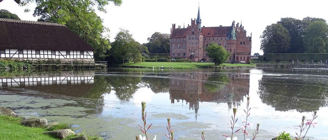 Schloss Egeskov auf der Insel Fünen