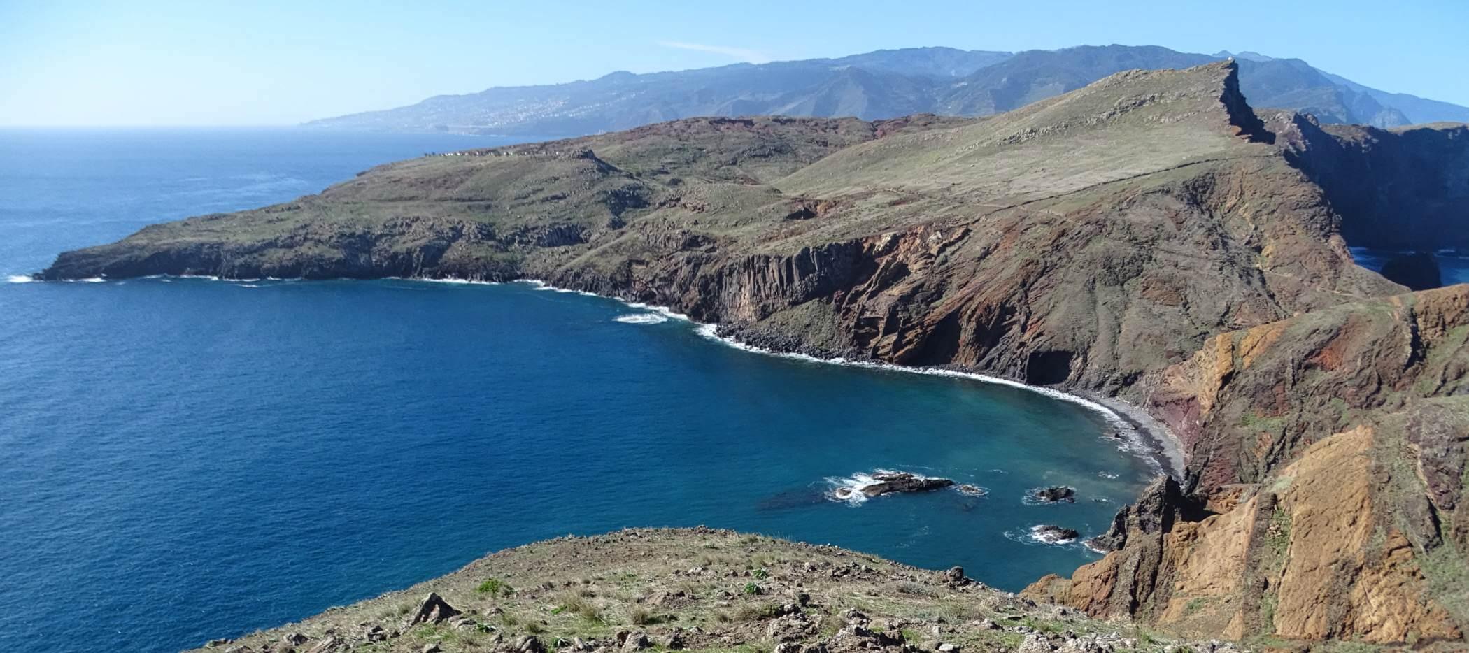 Halbinsel im Osten von Madeira