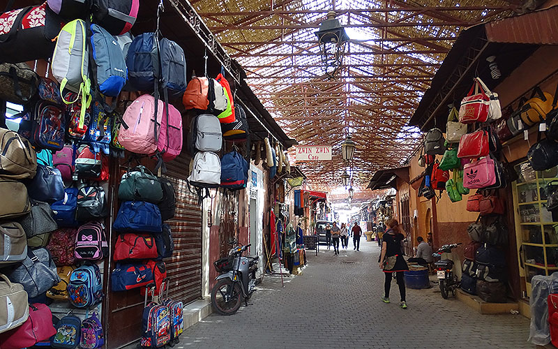 Gasse in Marrakesch