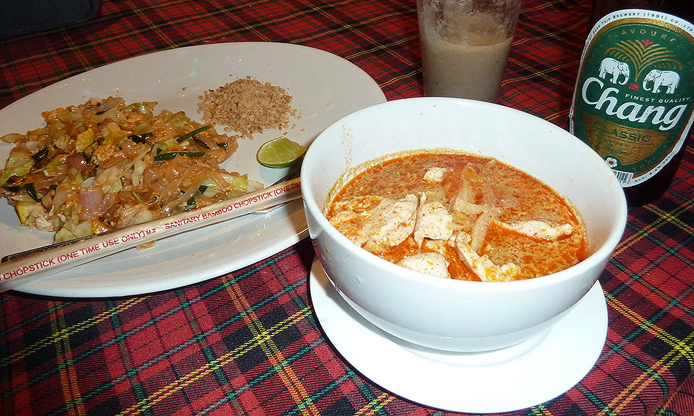 Thai Curry und Pad Thai