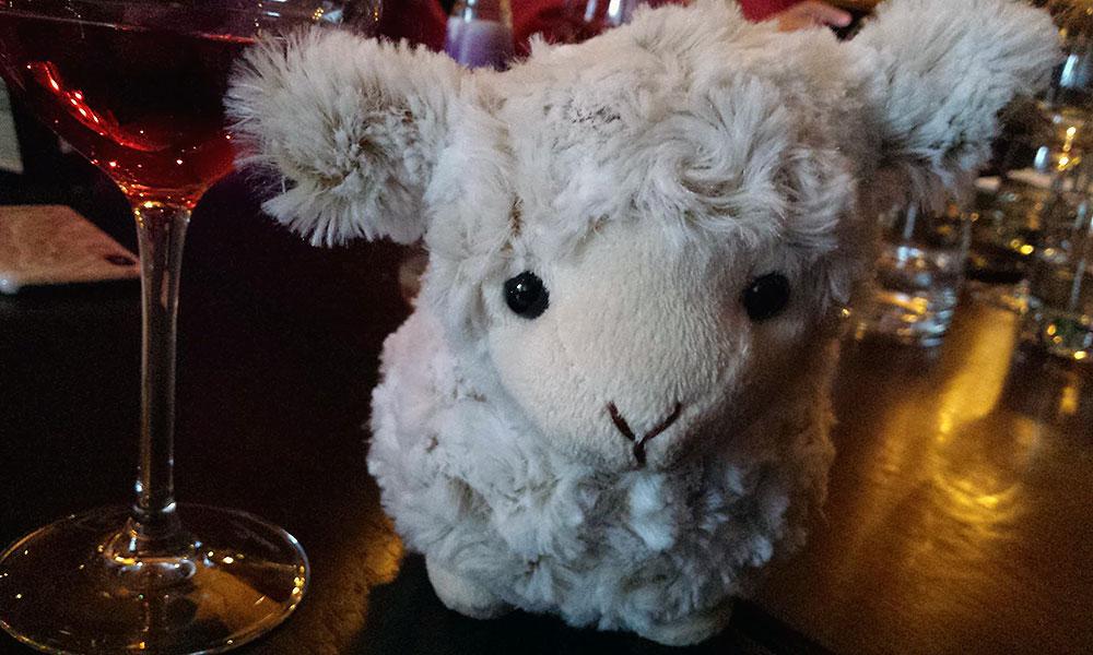Plüsch-Schaf
