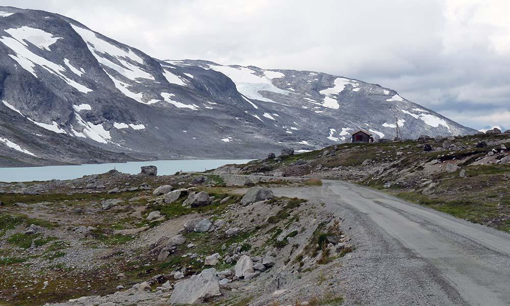 Kleine Schotterpiste in Norwegen