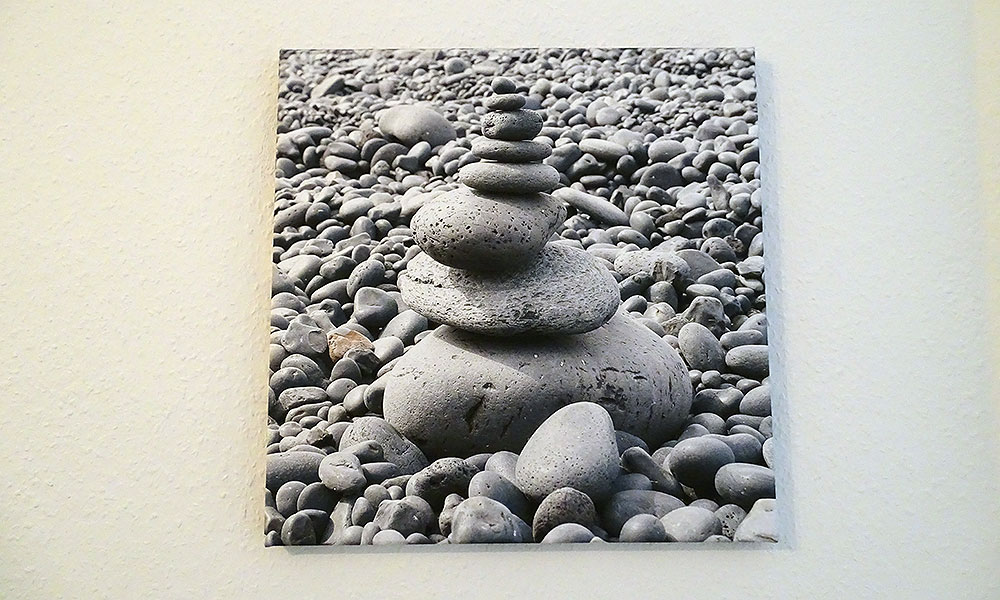 Bild von Steinen am Strand
