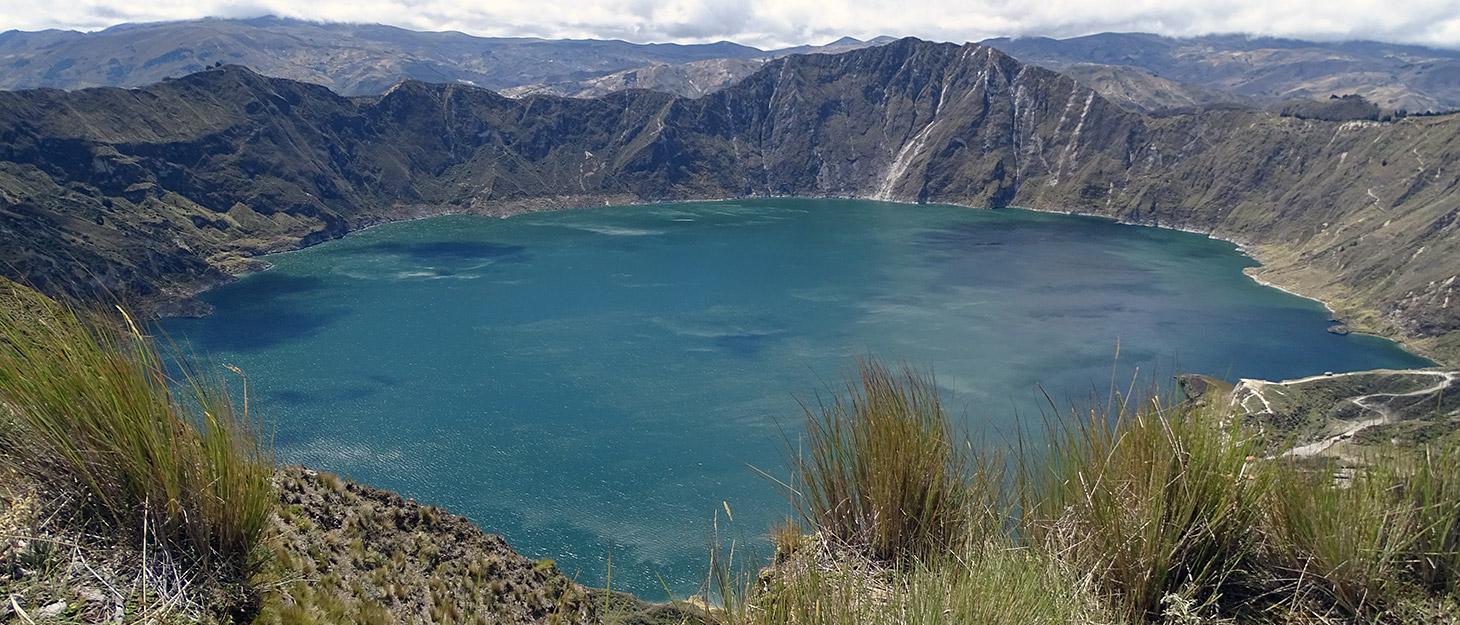 Blauer Kratersee