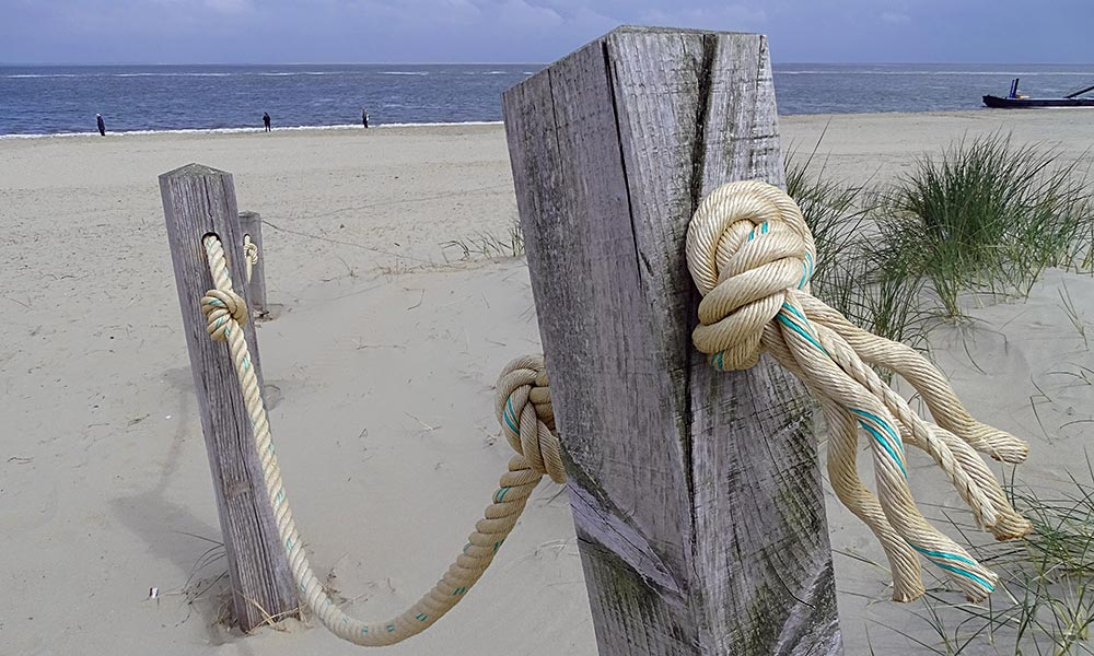 Am Strand auf Texel