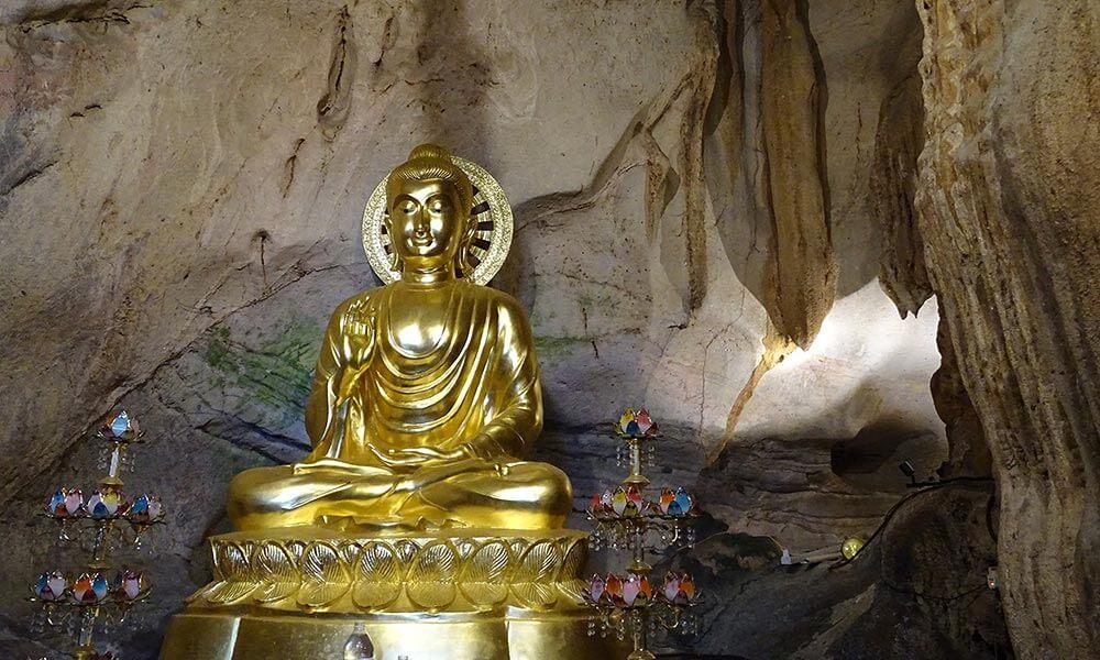 Buddha im Tempel von Ipoh
