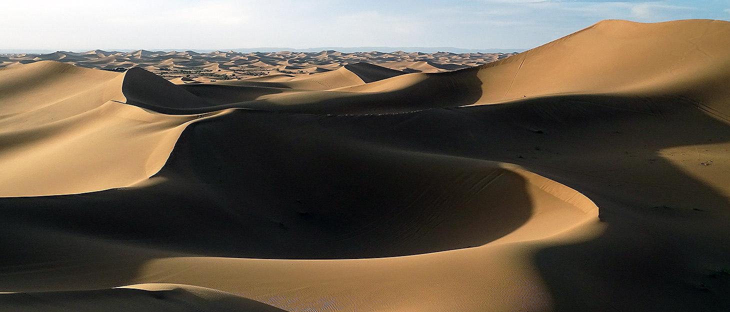 Dünen in der Sahara, Marokko