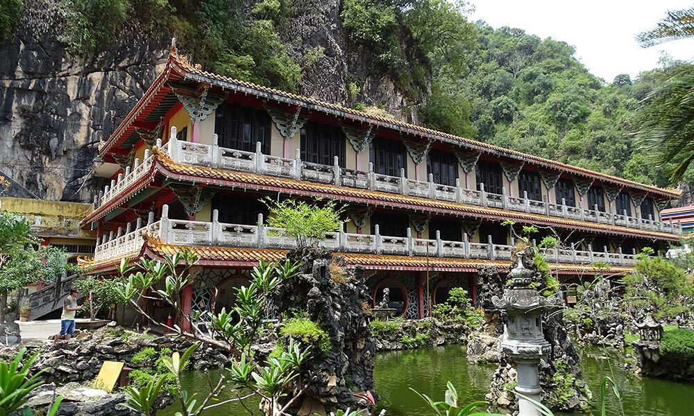 Tempel am Teich