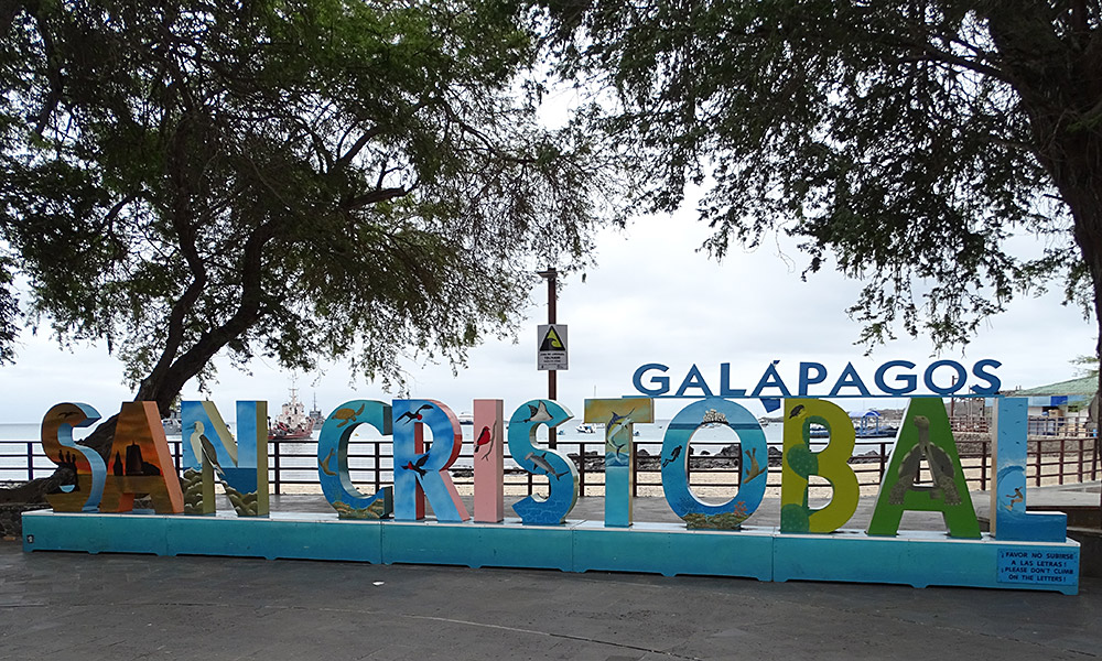 Schild San Cristóbal