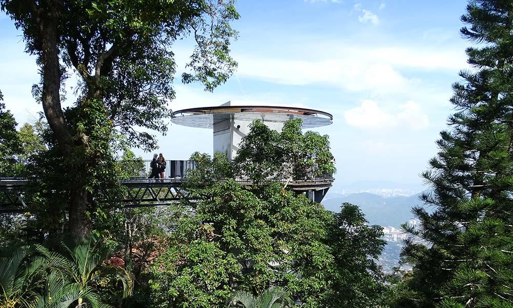 Aussichtsplattform am Penang Hill