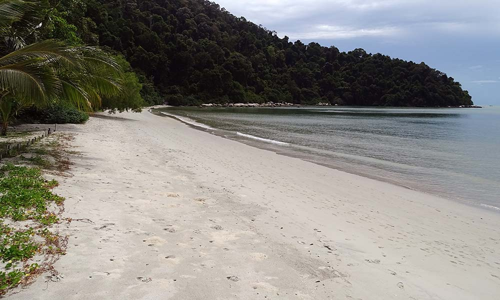 Strand im Penang Nationalpark
