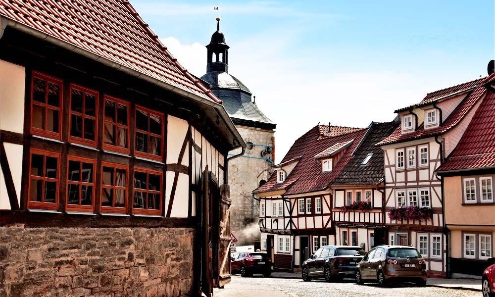 Altstadt mit Fachwerkhäusern