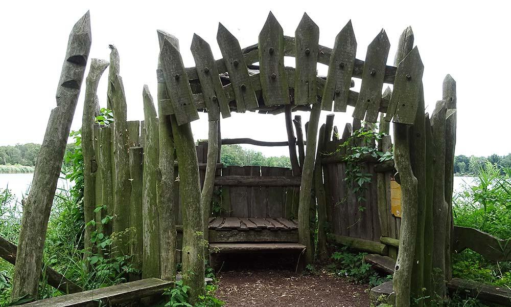 Aussichtsplattform aus Holz