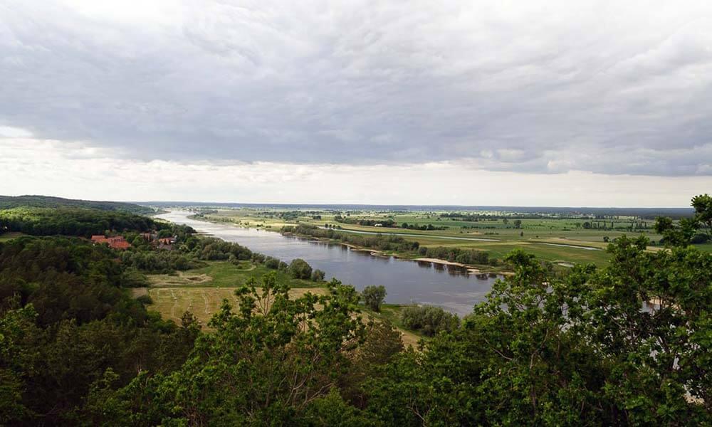 Blick in die Niedersächsische Elbtalaue