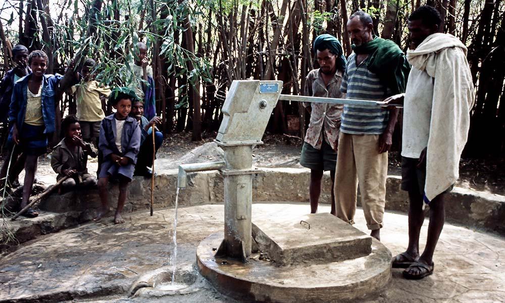 Sauberes Trinkwasser für Äthiopien